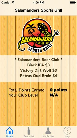 Salamanders Beer Club