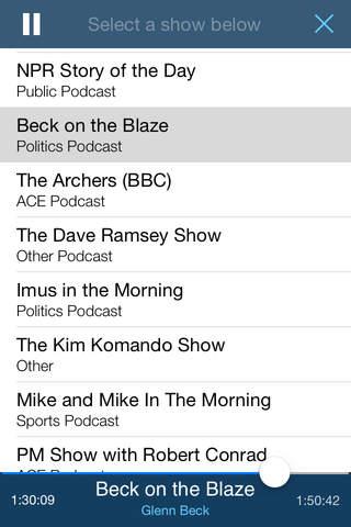 The Report: News & Talk Radio screenshot 2