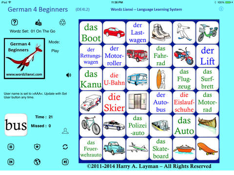 German Words 4 Beginners DE4L2