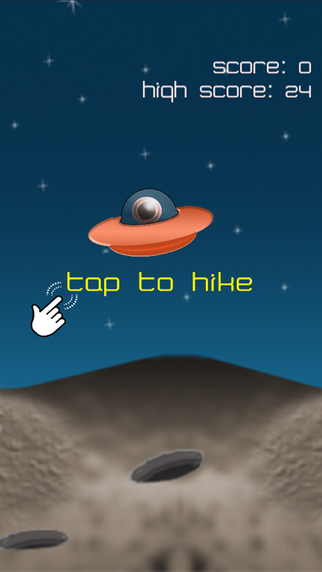 Space Hike - Tap To Hike