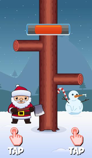 Santa Timber Axe - Merry Chrismas