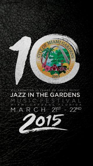 Jazz In the Gardens 2015
