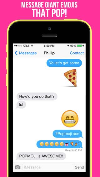 PopMoji - Giant Emojis
