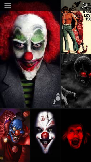 Clown Wallpapers HD - Scary Clown Faces Backgrounds And Images For iOS Screen