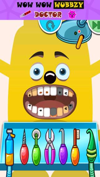 Kids Dentist Doctor Game Wow Wow Wubbzy Edition