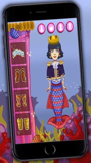 Dress up mermaids – princesses game for girls