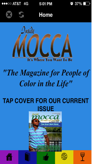 Mocca Magazine The App