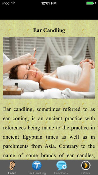 Ear Candling - Health and Revitalization