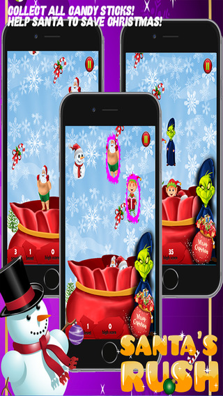 Santa's Rush Free: Be Santa's Little Hero in this Messy Christmas Game