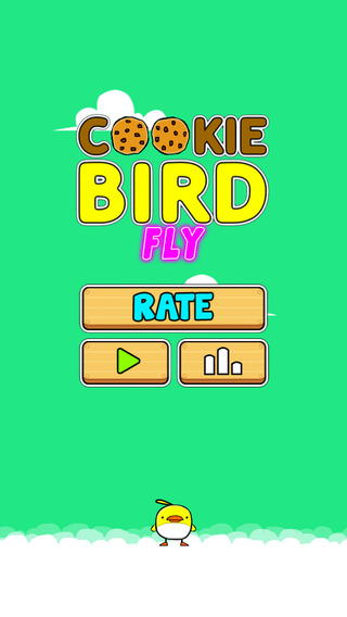 Cookie Bird Fly - Tap To Bounce And Eat Cookies But Dont Touch The Walls