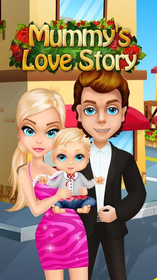 Mommy's Newborn Baby Love Story - High School Sweethearts