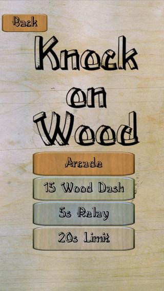 Knock On Wood Reflex Game