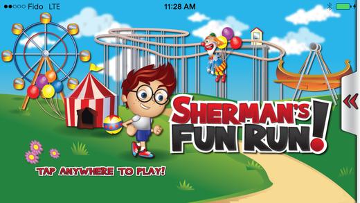 Mr Shermans Power Run: Sonic Speed Infinite Scroll-er