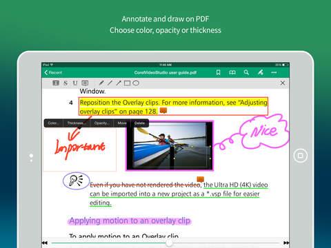 Gaaiho PDF HD - Annotate PDF Share Manage