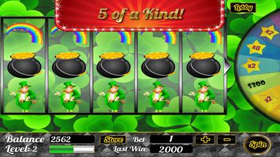 Screenshot 3 777 Мастер удачи-й Лепрекон Лас-Вегас-Стрип Большая Казино Win Слоты бесплатно