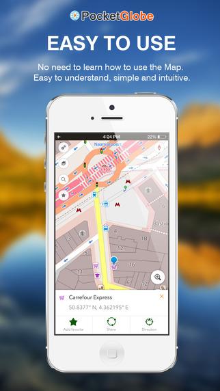 Equatorial Guinea Map - Offline Map POI GPS Directions