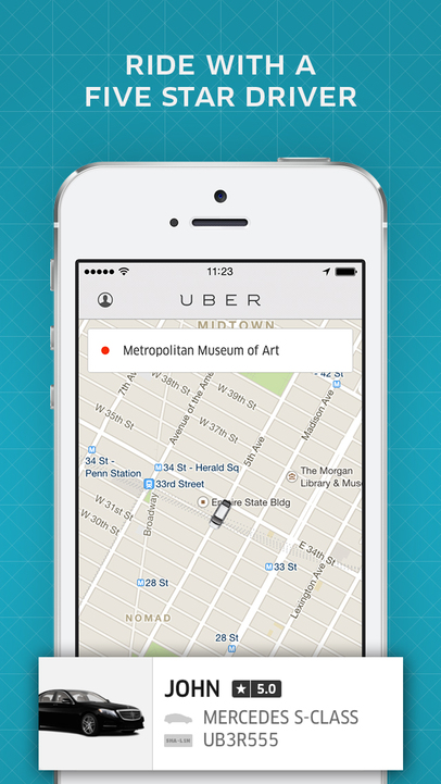 Uber - iPhone Mobile Analytics and App Store Data