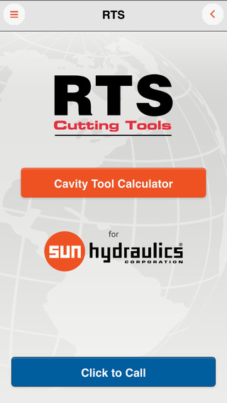 RTS Cutting Tools Cavity Tool Calculator