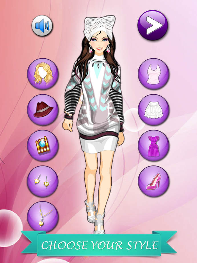 Dressup Olympic Girl Makeover Fashion Makeover Game For