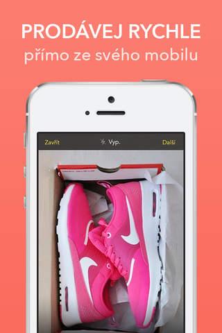 Vinted.cz screenshot 1