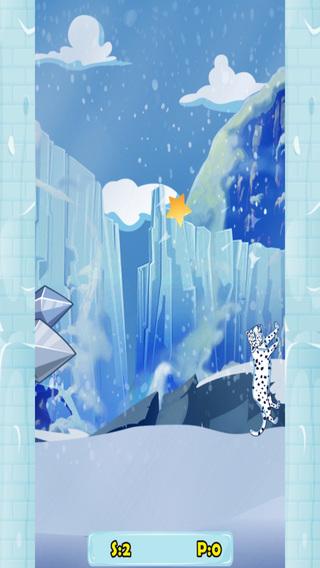 Snow Leopard Jump - Frozen Pet Tiger Challenge