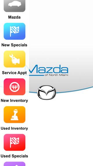Mazda of North Miami Dealer App