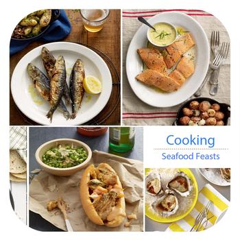 Cookbook - Seafood Feasts for iPad Version 生活 App LOGO-APP試玩