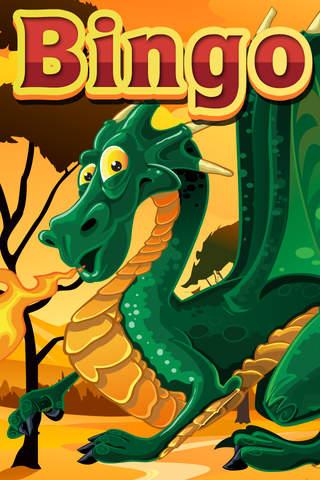 Air Fire Dragon Rush Bingo Games 2 Free screenshot 1