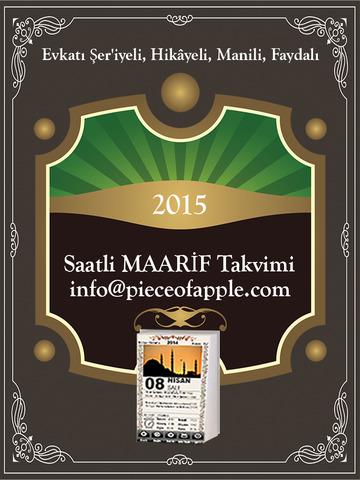 玩免費書籍APP|下載Maarif Takvimi For iPad app不用錢|硬是要APP