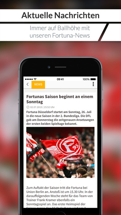 Fortuna für Fans 2.0 iPhone Screenshot 1
