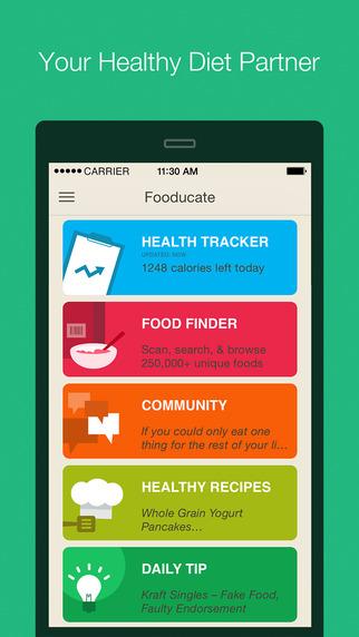 Fooducate - Healthy Weight Loss Food Scanner Diet Tracker