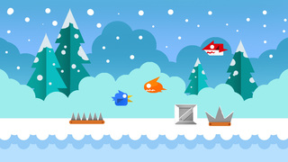 Cold Bird Run - Best Adventure Birds Runner Game