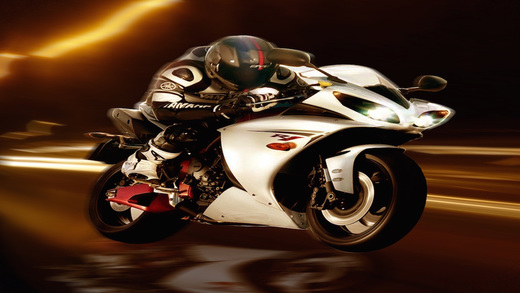 Crash And Burn Street Motorbike Racing Frenzy 3D Game - Beat The Cars Collect Prizes
