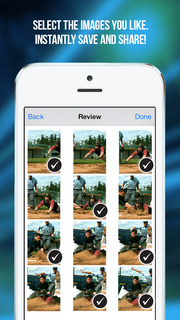 Screenshot #8 for Fast Camera - The Rapid Speed Burst Mode, Timelapse Cam Photography, Snappy Photos & Video Sharing App