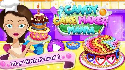 Candy Cake Maker Mania