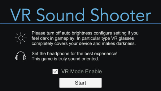 VR Sound Shooter Screenshot