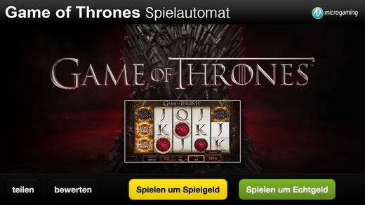 Spielautomat 2015 für Game of Thrones - Microgaming Casino Slot Spiel Automat