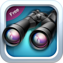 Binoculars FREE - Easily Super-Zoom Your Camera - iOS Store App Ranking and App Store Stats
