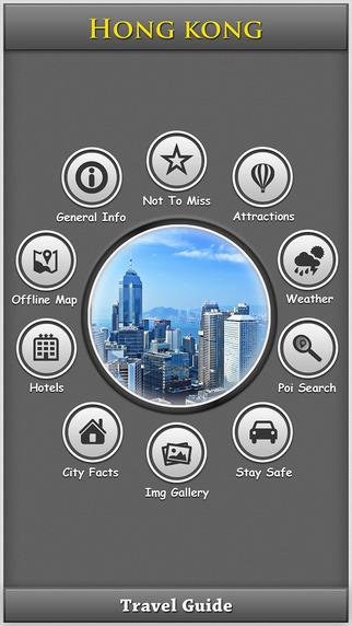 Hong Kong Offline Map Travel Explorer