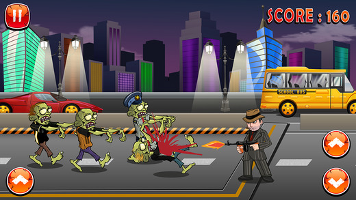 Zombie Cops Vs. iMob Apocalyse : A Street Chase in Gang-star Rio FREE