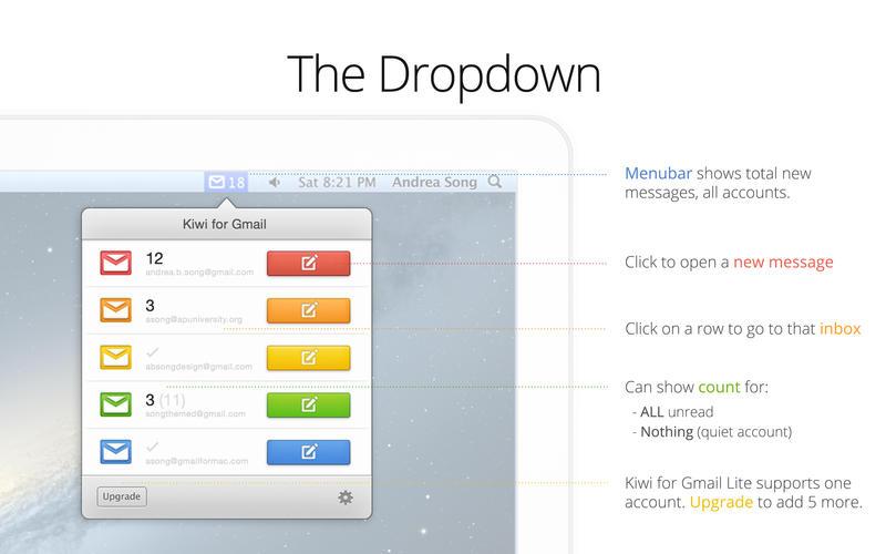 Kiwi for Gmail Lite Screenshot - 4