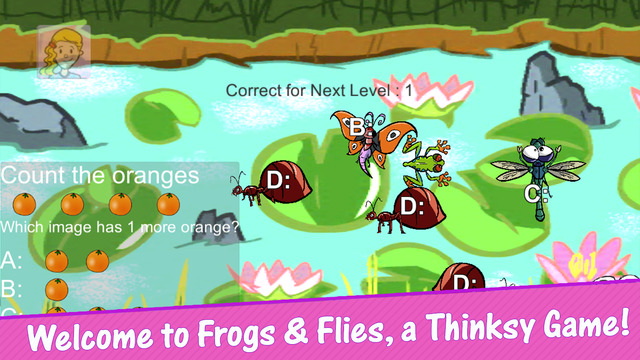 Frogs and Flies Game