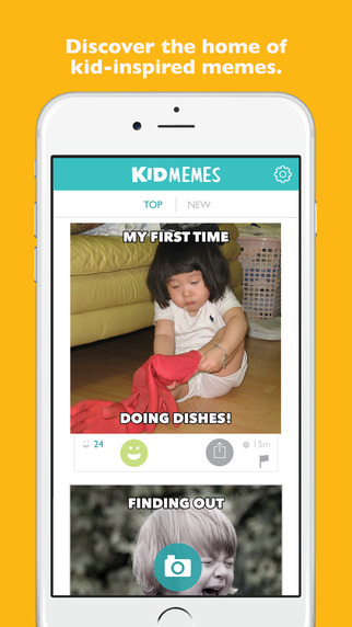 KidMemes: Overlay Text on Photos to Capture and Share Funny Things Kids Say