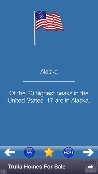 USA Facts iPhone Screenshot 1