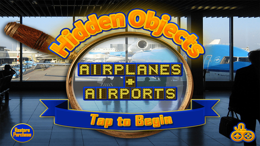 Airports Airplanes Find Objects - Hidden Object Time Spot Difference Puzzle Games