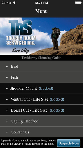 Taxidermy Skinning Guide FREE