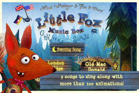 Screenshot 1 Little Fox Music Box – Kids songs – Sing along