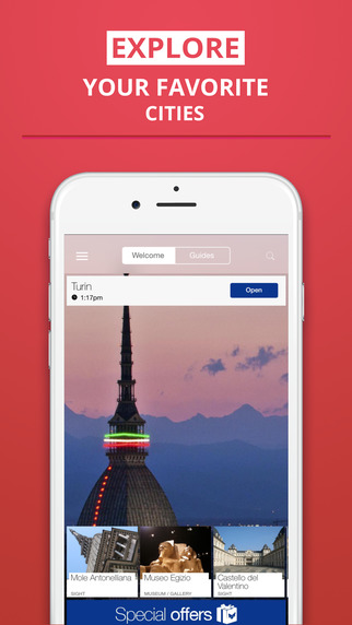 Turin - your travel guide with offline maps from tripwolf guide for sights restaurants and hotels