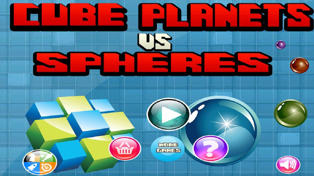 Cube Planets VS Spheres – Puzzle Pop Mania - Free