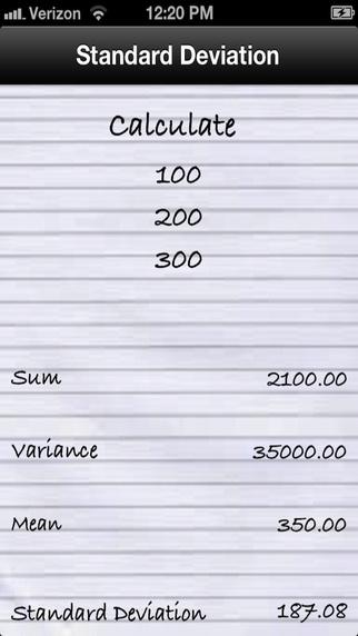 Standard Deviation Calculator - CameraCalc